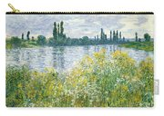 Banks Of The Seine Vetheuil Carry-all Pouch