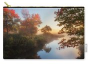 Bantam River Sunrise Carry-all Pouch by Bill Wakeley