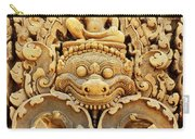 Banteay Srei Carving 01 Carry-all Pouch