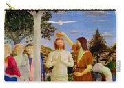 Baptism Of Christ - Oil On Canvas Carry-all Pouch
