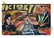 Barack And Russell Simmons Carry-all Pouch
