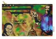 Barack And Sam Cooke Carry-all Pouch