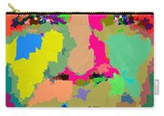 Barack Obama - Abstract 01 Carry-all Pouch by Samuel Majcen