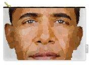 Barack Obama Carry-all Pouch by Samuel Majcen