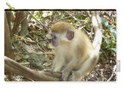 Barbados Green Monkey Carry-all Pouch