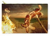 Barbecue On The Beach Carry-all Pouch
