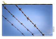 Barbed Wire Close Carry-all Pouch