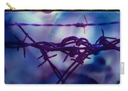 Barbed Wire Love Series The Blues 2 Carry-all Pouch
