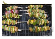 Barbeque Kabobs On Grill Carry-all Pouch