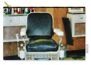 Barber - Barber Chair Front View Carry-all Pouch