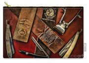 Barber - Barber Tools Of The Trade Carry-all Pouch by Paul Ward