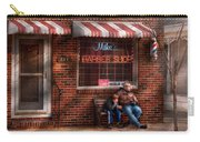 Barber - Metuchen Nj - Waiting For Mike Carry-all Pouch by Mike Savad