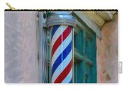 Barber Pole Carry-all Pouch