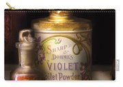 Barber -  Sharp And Dohmes Violet Toilet Powder  Carry-all Pouch by Mike Savad