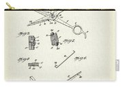 Barber Shears Patent 1927 Carry-all Pouch