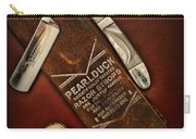 Barber - Tools For A Close Shave  Carry-all Pouch