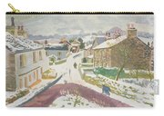 Barbon In The Snow Carry-all Pouch
