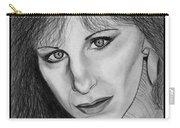 Barbra Streisand In 1983 Carry-all Pouch