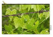 Barbwire And Vine Carry-all Pouch