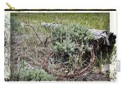 Barbwire Wreath 2 Carry-all Pouch