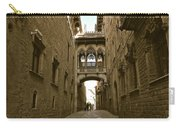 Barcelona Backstreets Carry-all Pouch