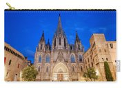 Barcelona Cathedral At Night Carry-all Pouch