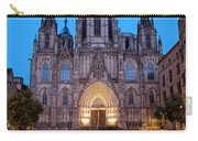 Barcelona Cathedral In The Evening Carry-all Pouch