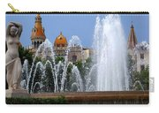 Barcelona Fountain Placa De Catalunya Carry-all Pouch
