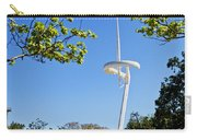 Barcelona Tv Tower/sun Dial Carry-all Pouch