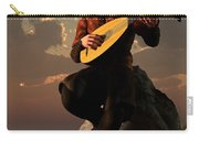 Bard With Lute Carry-all Pouch