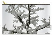 Bare Branches With Snow Carry-all Pouch