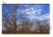 Bare Pecan Trees Carry-all Pouch