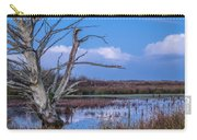 Bare Tree In Marsh Carry-all Pouch