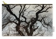 Bare Tree On The Hill Carry-all Pouch