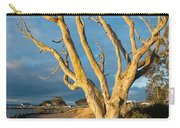Bare Tree On The Spit Carry-all Pouch
