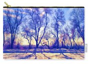 Bare Trees Carry-all Pouch