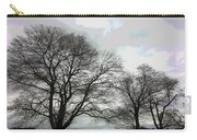 Bare Trees Winter Sky Carry-all Pouch