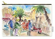 Bargaining Tourists In Siracusa Carry-all Pouch
