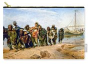 Barge Haulers On The Volga 1870-1873 Carry-all Pouch