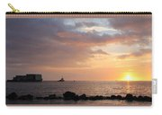Barge Into The Sunset Carry-all Pouch