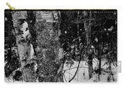 Bark And Trees In Winter Carry-all Pouch