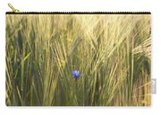 Barley And Corn Flowers In The Field Carry-all Pouch