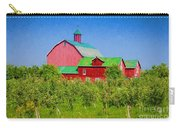 Barn And Apple Orchard Carry-all Pouch