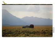 Barn And Mountains Carry-all Pouch