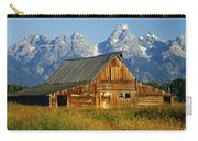 1m9394-barn And The Tetons Carry-all Pouch