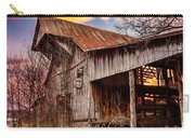 Barn At Sunset Carry-all Pouch