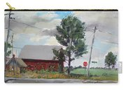 Barn By Lockport Rd Carry-all Pouch by Ylli Haruni