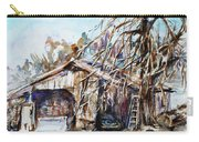 Barn By The Tree Carry-all Pouch