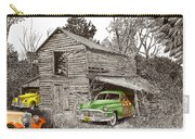 Barn Finds Classic Cars Carry-all Pouch by Jack Pumphrey