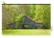 Barn From The Forgotten Farm Carry-all Pouch
